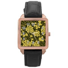 Floral Wallpaper Forest Rose Gold Watches by ImpressiveMoments