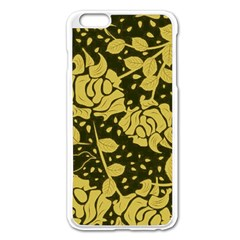 Floral Wallpaper Forest Apple Iphone 6 Plus Enamel White Case by ImpressiveMoments