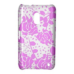 Floral Wallpaper Pink Nokia Lumia 620 by ImpressiveMoments