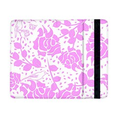 Floral Wallpaper Pink Samsung Galaxy Tab Pro 8 4  Flip Case by ImpressiveMoments