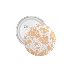 Floral Wallpaper Peach 1 75  Buttons by ImpressiveMoments