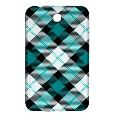 Smart Plaid Teal Samsung Galaxy Tab 3 (7 ) P3200 Hardshell Case  by ImpressiveMoments