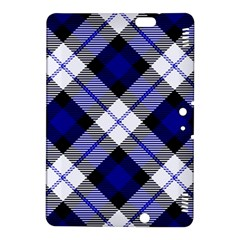 Smart Plaid Blue Kindle Fire Hdx 8 9  Hardshell Case by ImpressiveMoments