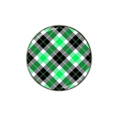 Smart Plaid Green Hat Clip Ball Marker (4 Pack) by ImpressiveMoments