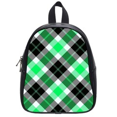 Smart Plaid Green School Bags (small)  by ImpressiveMoments