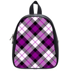 Smart Plaid Purple School Bags (small)  by ImpressiveMoments