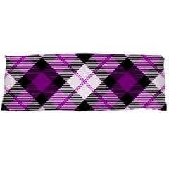 Smart Plaid Purple Body Pillow Cases Dakimakura (two Sides)  by ImpressiveMoments