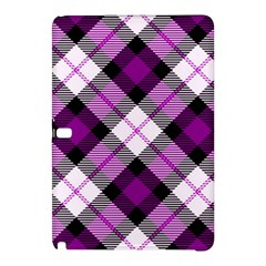 Smart Plaid Purple Samsung Galaxy Tab Pro 10 1 Hardshell Case by ImpressiveMoments