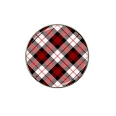 Smart Plaid Red Hat Clip Ball Marker (4 Pack) by ImpressiveMoments