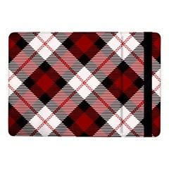 Smart Plaid Red Samsung Galaxy Tab Pro 10 1  Flip Case by ImpressiveMoments