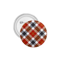 Smart Plaid Warm Colors 1 75  Buttons by ImpressiveMoments