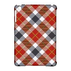 Smart Plaid Warm Colors Apple Ipad Mini Hardshell Case (compatible With Smart Cover) by ImpressiveMoments
