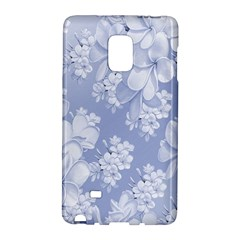 Delicate Floral Pattern,blue  Galaxy Note Edge by MoreColorsinLife
