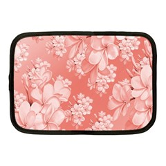 Delicate Floral Pattern,pink  Netbook Case (medium)  by MoreColorsinLife