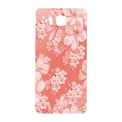 Delicate Floral Pattern,pink  Samsung Galaxy Alpha Hardshell Back Case by MoreColorsinLife