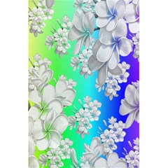 Delicate Floral Pattern,rainbow 5 5  X 8 5  Notebooks by MoreColorsinLife