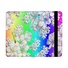 Delicate Floral Pattern,rainbow Samsung Galaxy Tab Pro 8.4  Flip Case by MoreColorsinLife