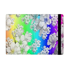 Delicate Floral Pattern,rainbow Ipad Mini 2 Flip Cases by MoreColorsinLife