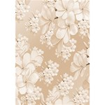 Delicate Floral Pattern,softly THANK YOU 3D Greeting Card (7x5)  Inside