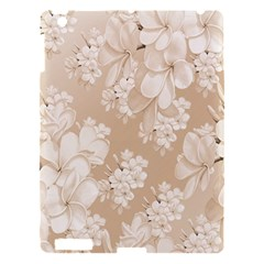 Delicate Floral Pattern,softly Apple Ipad 3/4 Hardshell Case by MoreColorsinLife