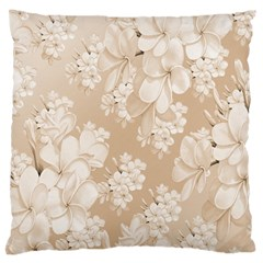 Delicate Floral Pattern,softly Large Flano Cushion Cases (one Side)  by MoreColorsinLife