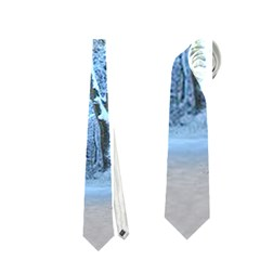 Another Winter Wonderland 1 Neckties (One Side)  by MoreColorsinLife