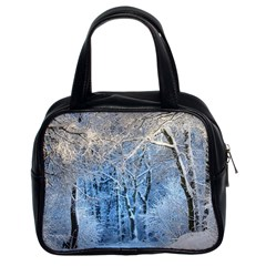 Another Winter Wonderland 1 Classic Handbags (2 Sides) by MoreColorsinLife
