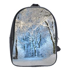 Another Winter Wonderland 1 School Bags(Large)  by MoreColorsinLife