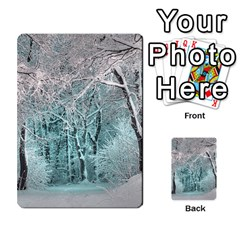 Another Winter Wonderland 2 Multi Purpose Cards (rectangle)