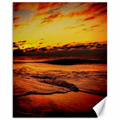 Stunning Sunset On The Beach 2 Canvas 16  X 20   by MoreColorsinLife