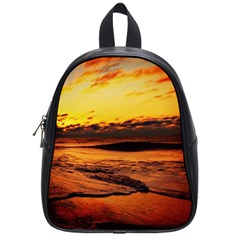 Stunning Sunset On The Beach 2 School Bags (small)  by MoreColorsinLife