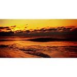 Stunning Sunset On The Beach 2 Congrats Graduate 3D Greeting Card (8x4)  Front