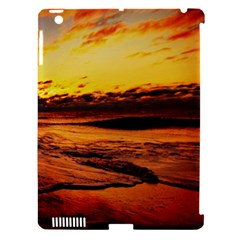 Stunning Sunset On The Beach 2 Apple Ipad 3/4 Hardshell Case (compatible With Smart Cover) by MoreColorsinLife