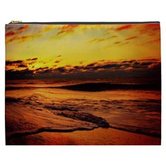 Stunning Sunset On The Beach 2 Cosmetic Bag (xxxl)  by MoreColorsinLife
