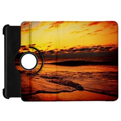 Stunning Sunset On The Beach 2 Kindle Fire HD Flip 360 Case by MoreColorsinLife
