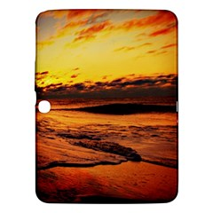 Stunning Sunset On The Beach 2 Samsung Galaxy Tab 3 (10 1 ) P5200 Hardshell Case  by MoreColorsinLife