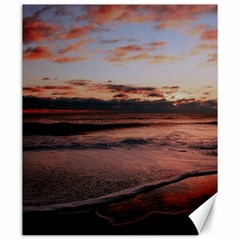 Stunning Sunset On The Beach 3 Canvas 20  X 24   by MoreColorsinLife