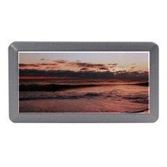 Stunning Sunset On The Beach 3 Memory Card Reader (mini) by MoreColorsinLife