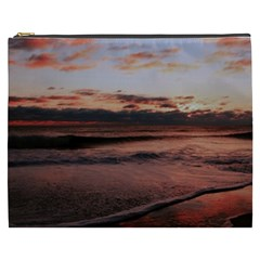 Stunning Sunset On The Beach 3 Cosmetic Bag (xxxl)  by MoreColorsinLife