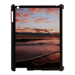 Stunning Sunset On The Beach 3 Apple Ipad 3/4 Case (black) by MoreColorsinLife