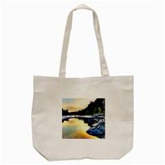 Stunning Nature Evening Tote Bag (cream)