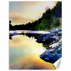 Stunning Nature Evening Canvas 12  X 16   by MoreColorsinLife