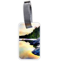 Stunning Nature Evening Luggage Tags (One Side)  by MoreColorsinLife