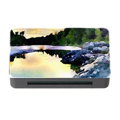 Stunning Nature Evening Memory Card Reader With Cf by MoreColorsinLife