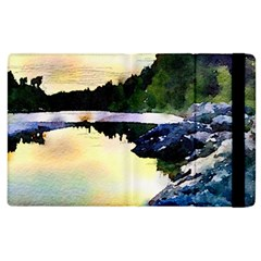 Stunning Nature Evening Apple Ipad 2 Flip Case by MoreColorsinLife