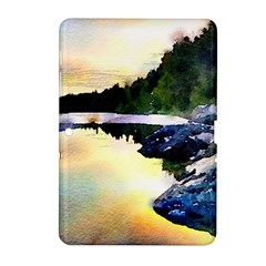 Stunning Nature Evening Samsung Galaxy Tab 2 (10.1 ) P5100 Hardshell Case  by MoreColorsinLife