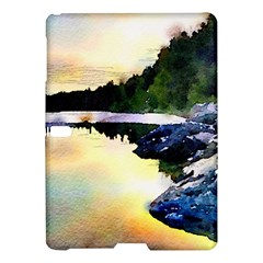 Stunning Nature Evening Samsung Galaxy Tab S (10 5 ) Hardshell Case  by MoreColorsinLife