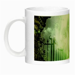 The Gate In The Magical World Night Luminous Mugs by FantasyWorld7