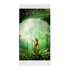 The Gate In The Magical World Shower Curtain 36  x 72  (Stall)