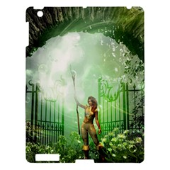 The Gate In The Magical World Apple iPad 3/4 Hardshell Case by FantasyWorld7